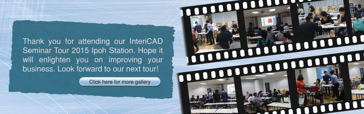 InteriCAD Seminar Tour 2015