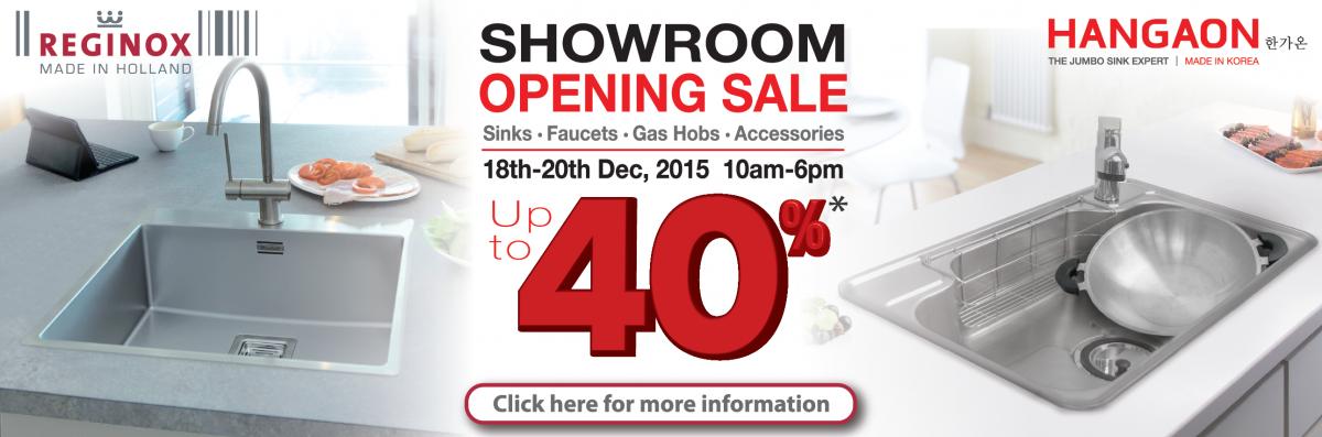 Showroom Sales 2015